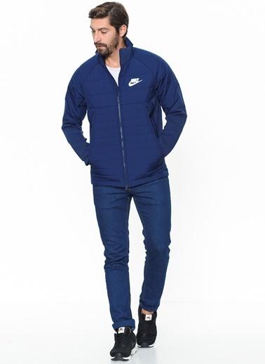 Nike Kısa Mont Mavi